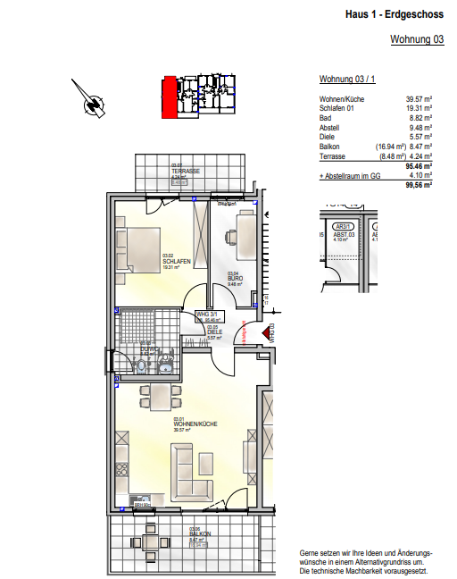 wohnung kaufen 0 zimmer 95.46 m² palzem foto 4
