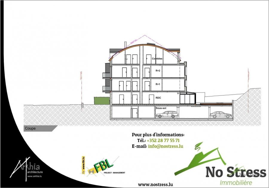 acheter appartement 3 chambres 107.49 m² rodange photo 6