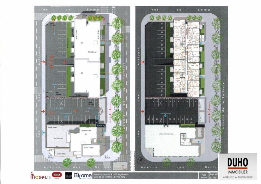 acheter appartement 3 pièces 64.53 m² yutz photo 1