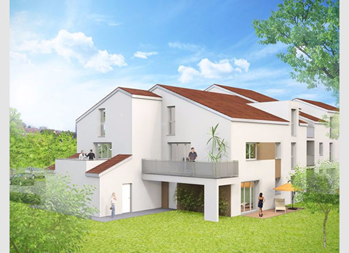 Neuf appartement f3 tomblaine meurthe et moselle r f for Appartement f3 neuf