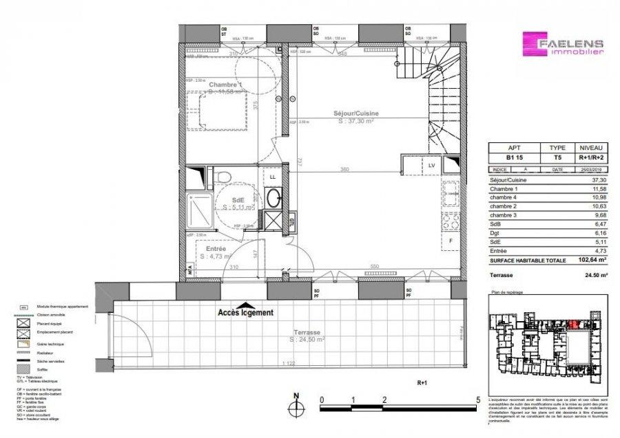 acheter appartement 5 pièces 103 m² lille photo 4