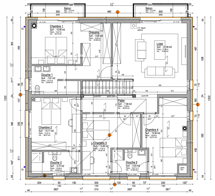 acheter maison 4 chambres 260 m² ehner photo 4