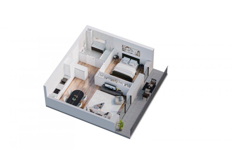 acheter appartement 1 chambre 45.9 m² belval photo 3