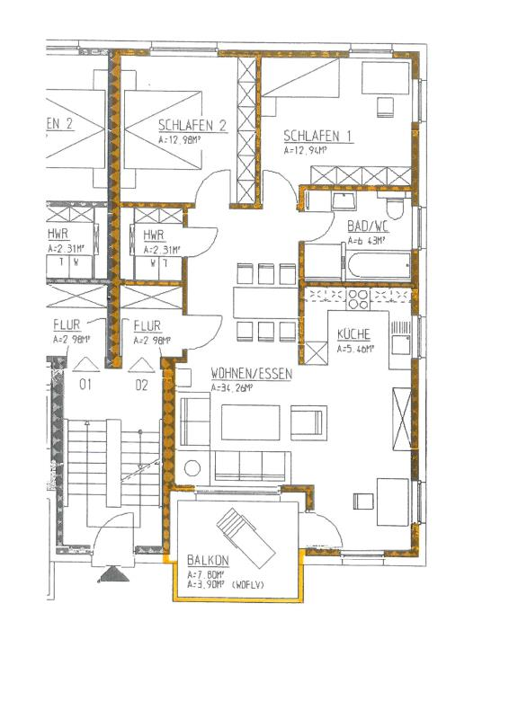 wohnung kaufen 3 zimmer 81.26 m² trier foto 4
