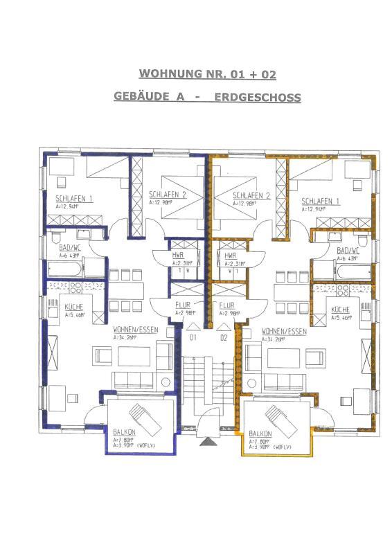 wohnung kaufen 3 zimmer 81.26 m² trier foto 6