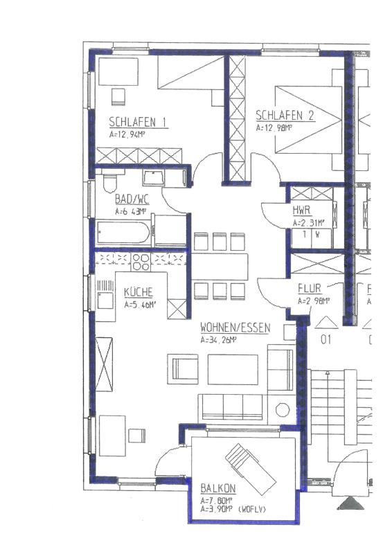wohnung kaufen 3 zimmer 81.26 m² trier foto 5