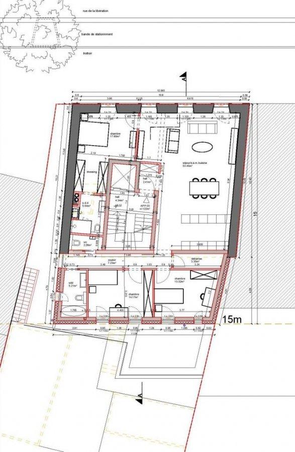 acheter appartement 3 chambres 122 m² dudelange photo 7