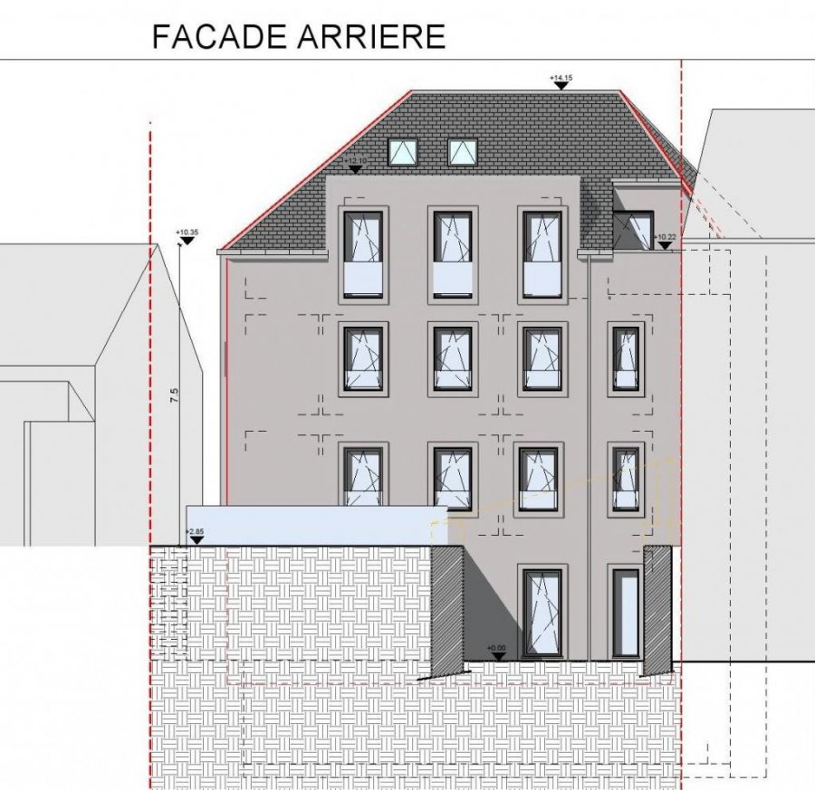 acheter appartement 3 chambres 122 m² dudelange photo 4