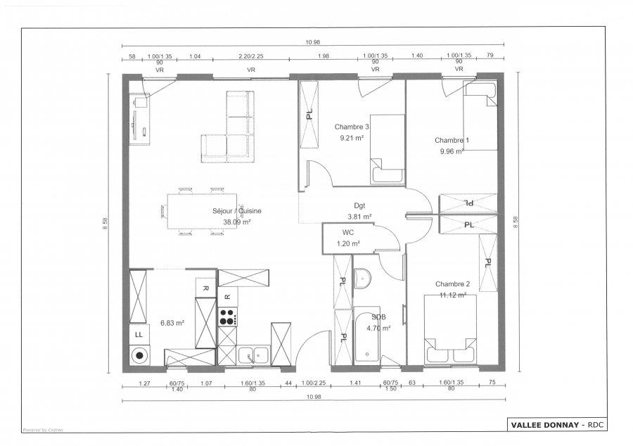 acheter maison 4 pièces 96 m² pontchâteau photo 1