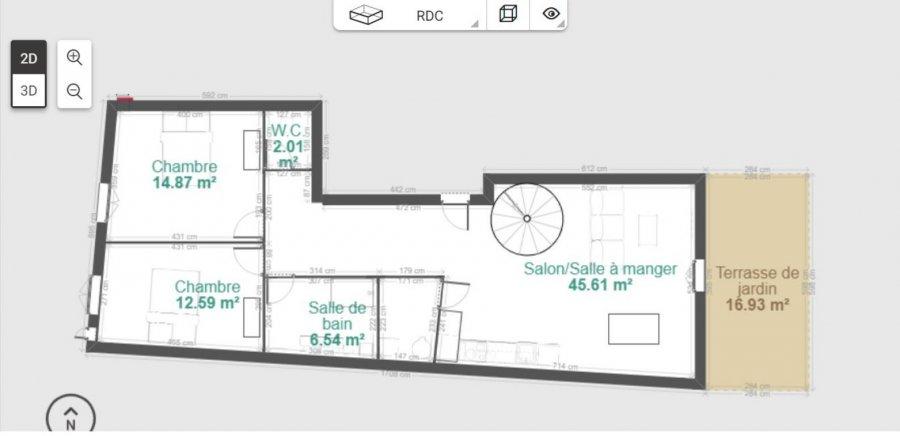 Appartement à vendre F3 à Bruley