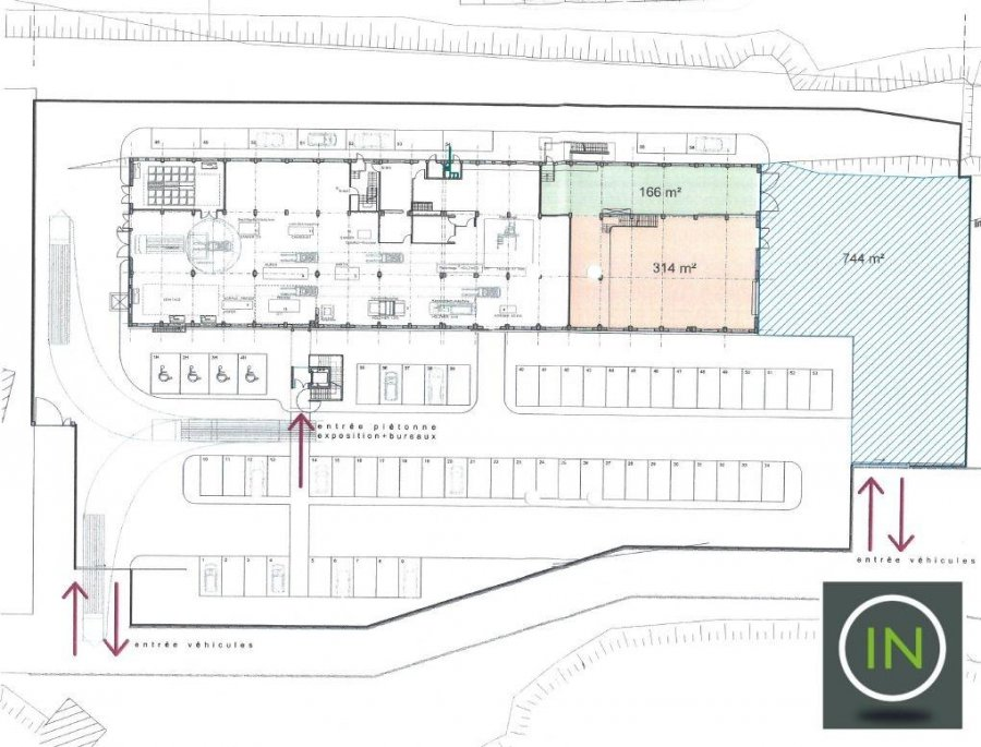 louer entrepôt 0 chambre 1460.3 m² esch-sur-alzette photo 3
