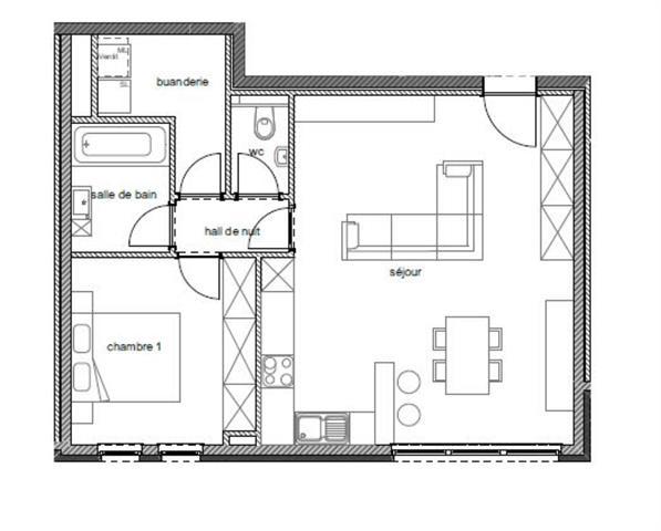 apartment for buy 1 room 67 m² arlon photo 2