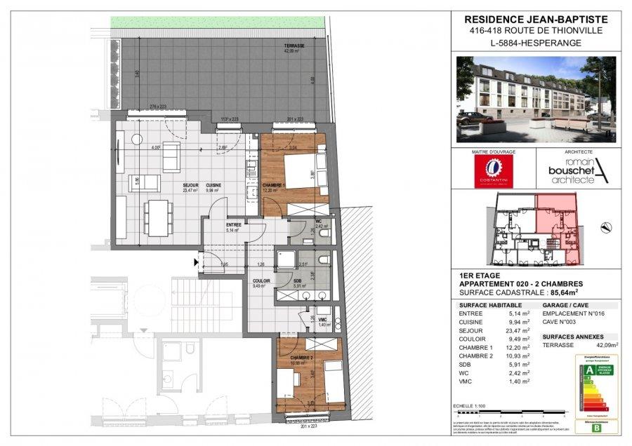 acheter résidence 0 chambre 55.67 à 113.38 m² hesperange photo 4