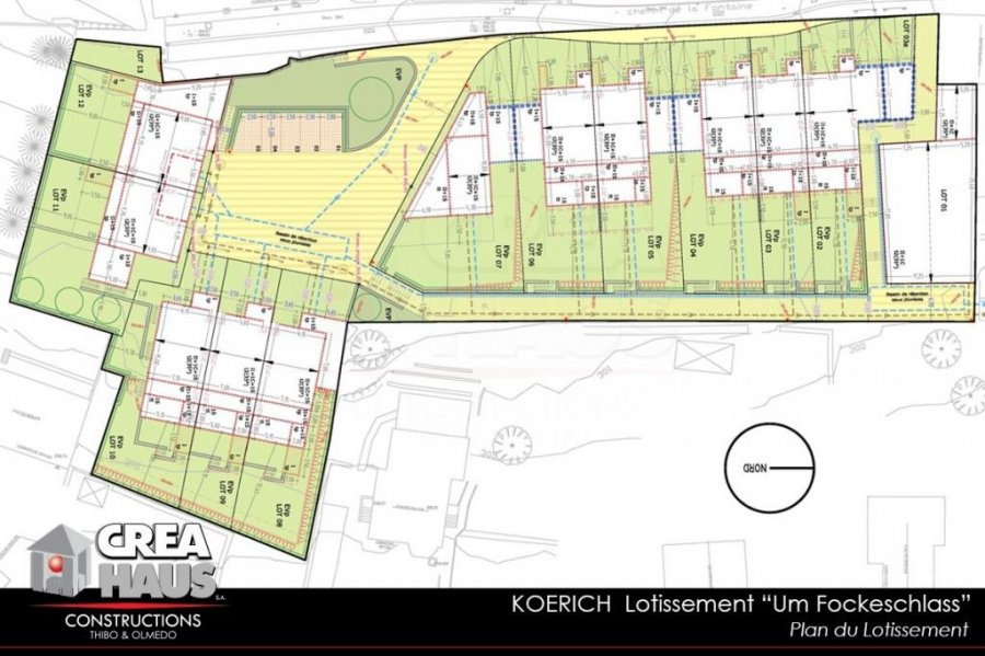 acheter terrain constructible 0 chambre 0 m² koerich photo 3