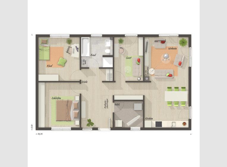Maison à vendre 4 Pièces à Mettlach (DE) - Réf. 7233852