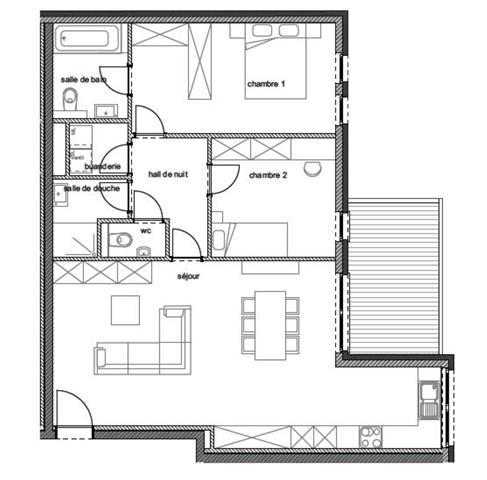 wohnung kaufen 2 zimmer 98 m² arlon foto 2