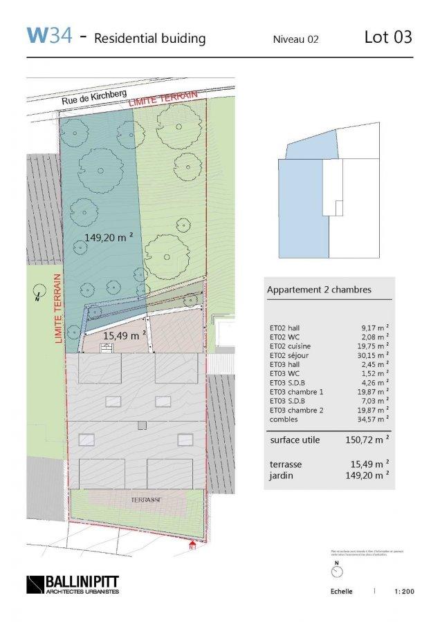 acheter duplex 2 chambres 150.72 m² luxembourg photo 4