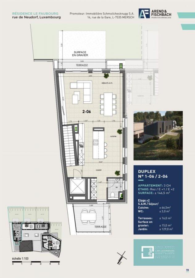 acheter duplex 3 chambres 146.6 m² luxembourg photo 7