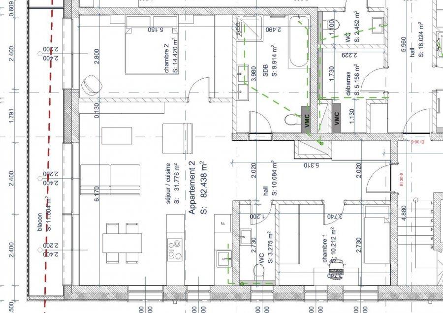 acheter appartement 2 chambres 82.43 m² weiswampach photo 4