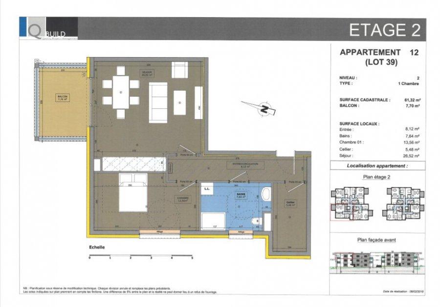 acheter appartement 3 pièces 61.32 m² cosnes-et-romain photo 1