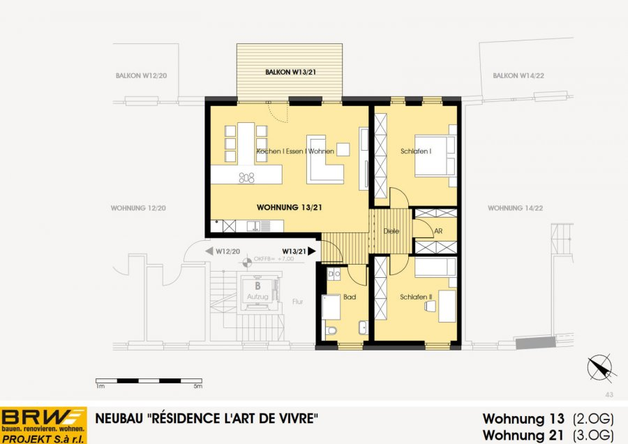 acheter appartement 2 chambres 105.75 m² echternach photo 4