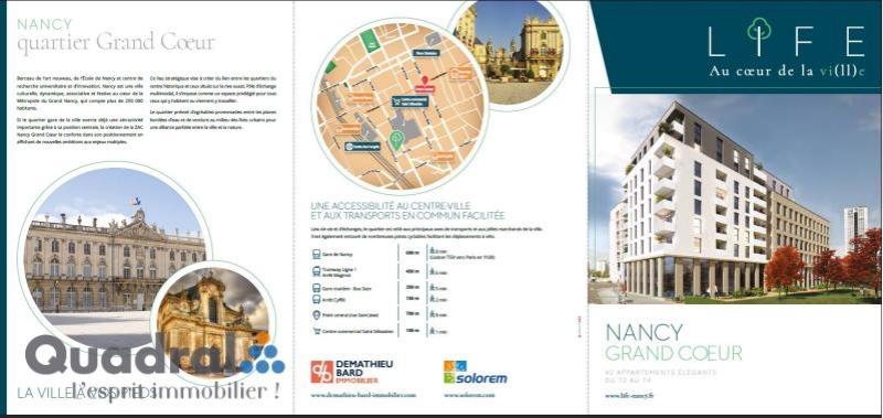 acheter appartement 2 pièces 43 m² nancy photo 1