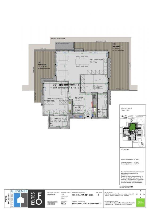 acheter appartement 2 chambres 82.19 m² strassen photo 4
