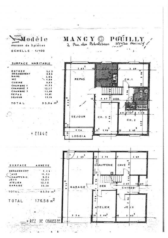 louer maison individuelle 5 pièces 93 m² pouilly photo 1