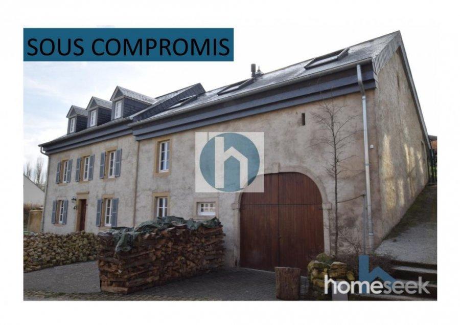Maison individuelle à vendre 4 chambres à Reckange (Mersch)