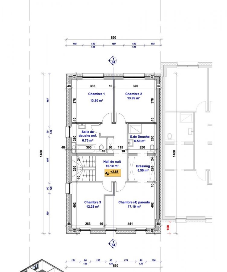 acheter maison jumelée 4 chambres 178.99 m² haller photo 7