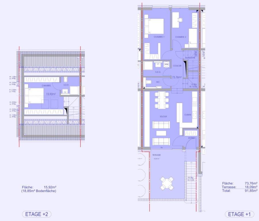 apartment for buy 3 bedrooms 96.92 m² niederanven photo 2