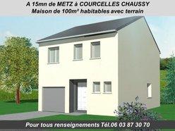 Maison individuelle à vendre F5 à Courcelles-Chaussy - Réf. 6194012