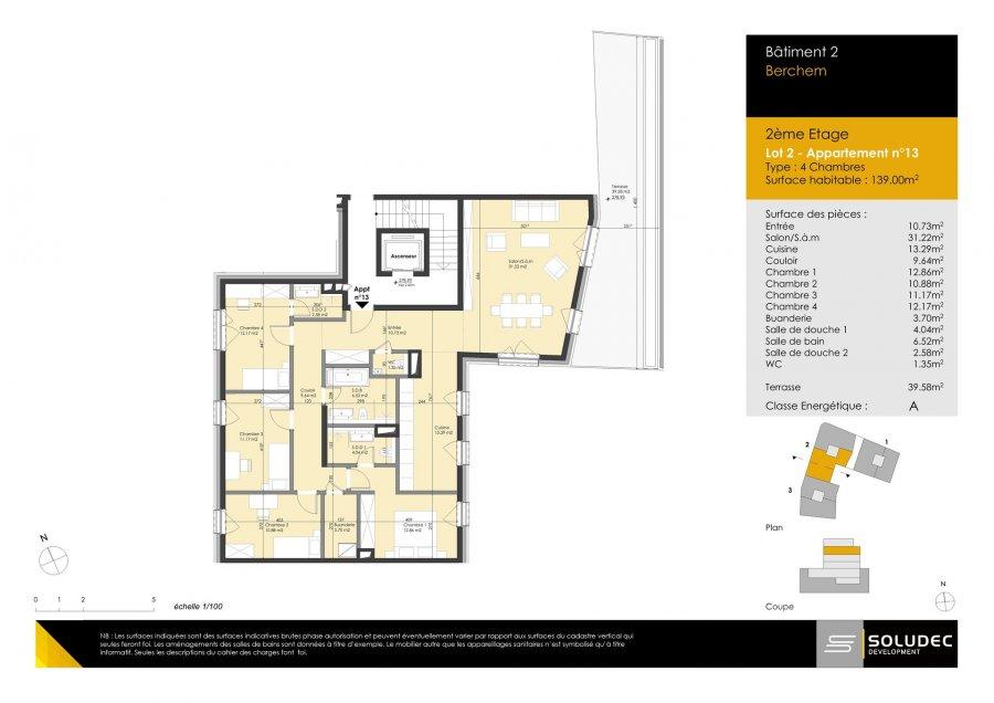 wohnung kaufen 4 schlafzimmer 139 m² berchem foto 1