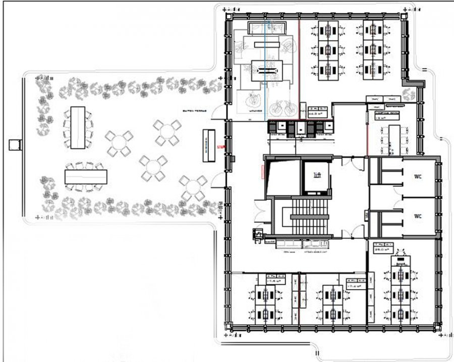 louer bureau 0 chambre 414 m² luxembourg photo 6
