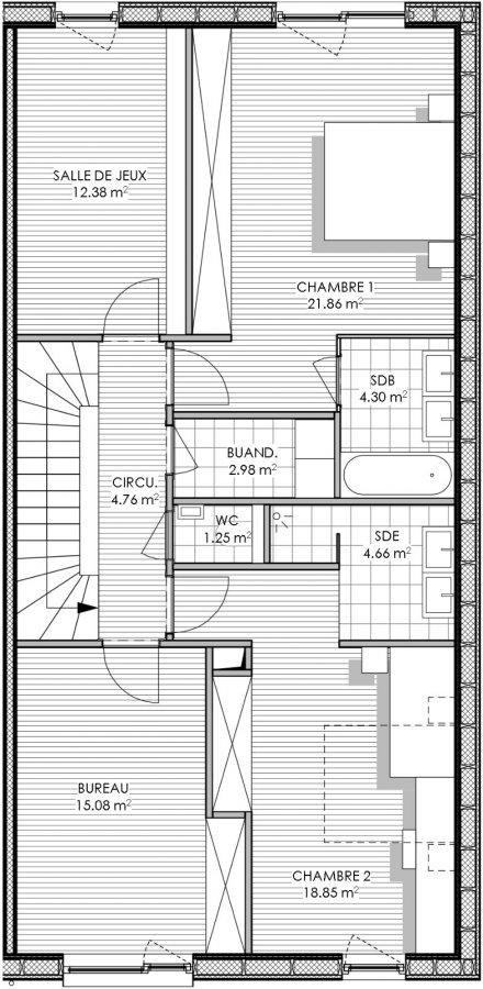 haus kaufen 4 schlafzimmer 228.7 m² peppange foto 6