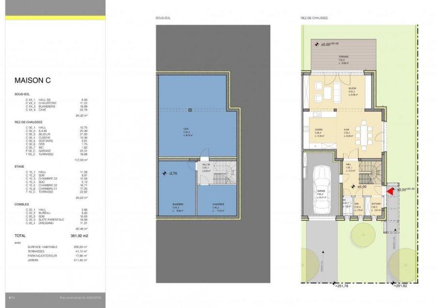 acheter maison jumelée 4 chambres 205 m² niederanven photo 5