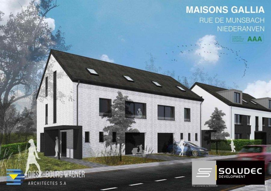 acheter maison jumelée 4 chambres 205 m² niederanven photo 1