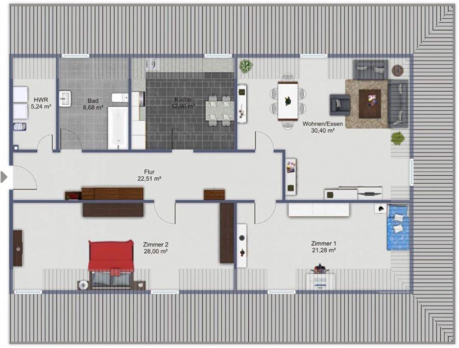 wohnung mieten 3 zimmer 128 m² trier foto 1
