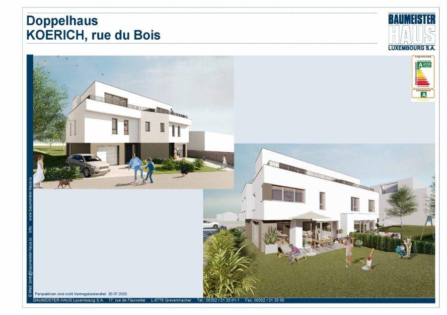 acheter maison jumelée 4 chambres 220.17 m² koerich photo 1