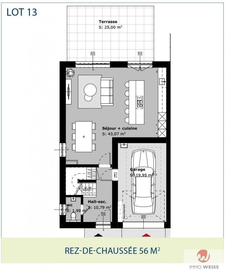 acheter maison jumelée 3 chambres 0 m² folschette photo 2