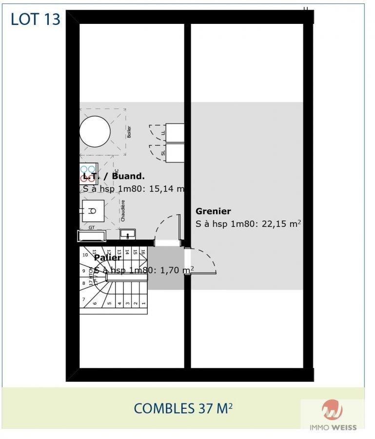 acheter maison jumelée 3 chambres 0 m² folschette photo 4