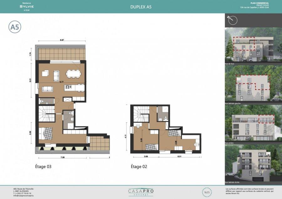 acheter penthouse 3 chambres 112 m² capellen photo 6