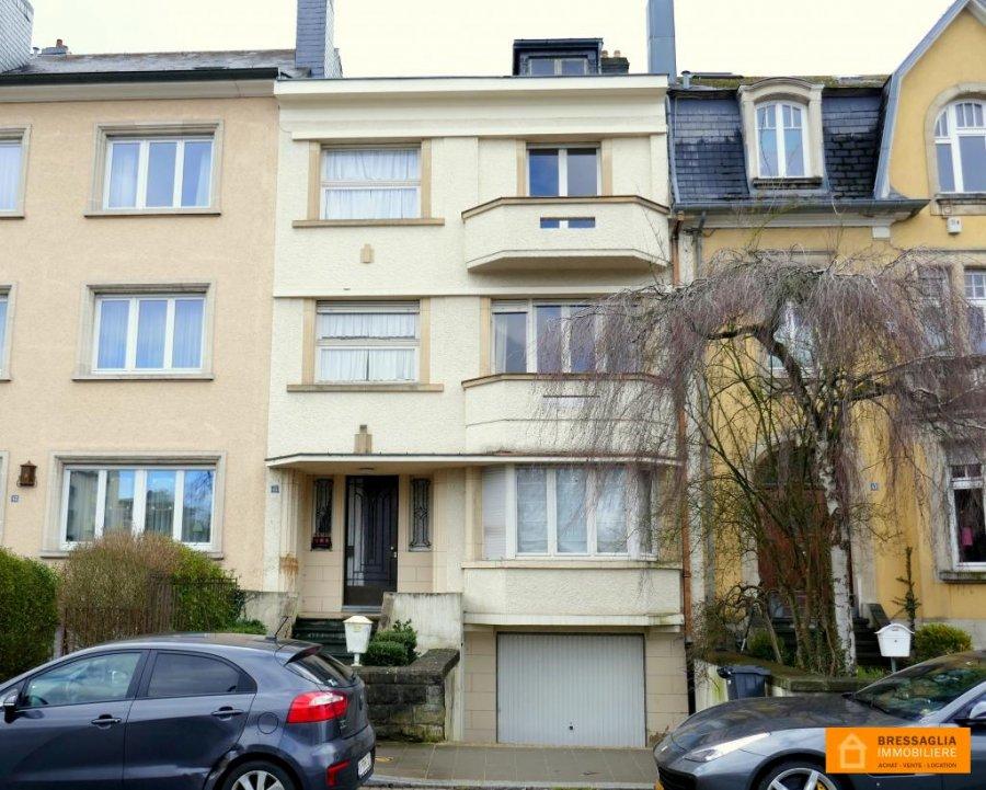 Maison individuelle à vendre 6 chambres à Luxembourg-Belair