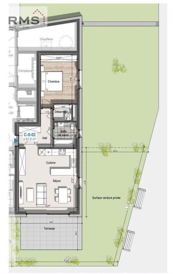 acheter appartement 1 chambre 61.73 m² remich photo 6