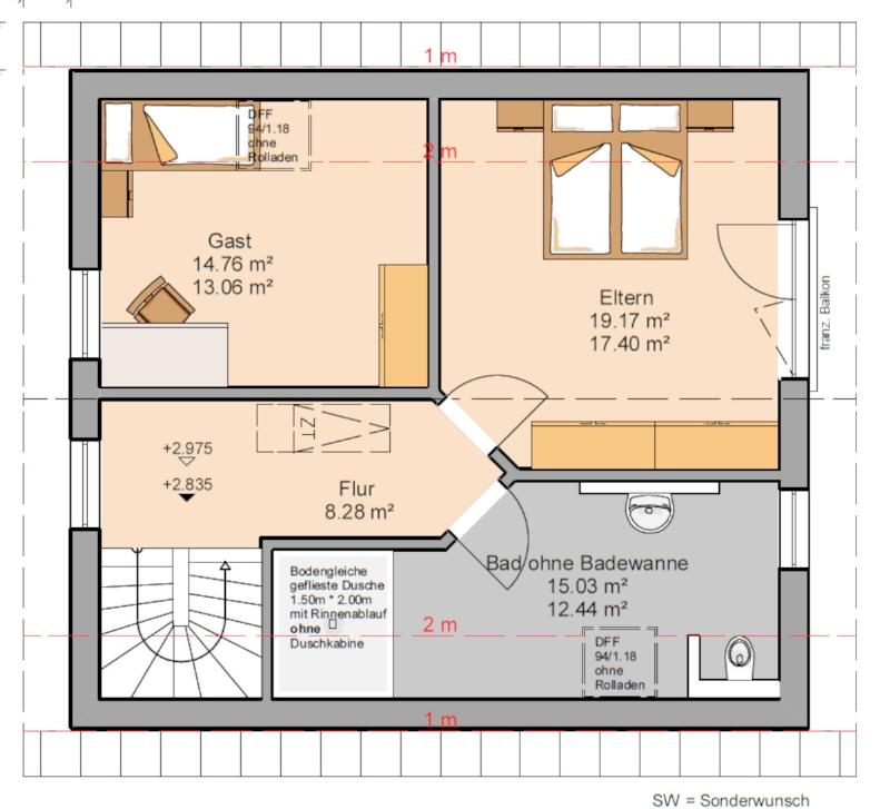 acheter maison 3 pièces 116 m² waldrach photo 7