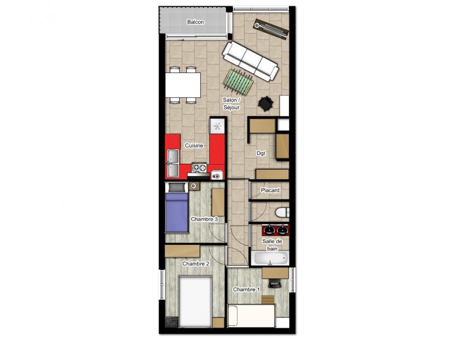 acheter appartement 5 pièces 88 m² metz photo 7