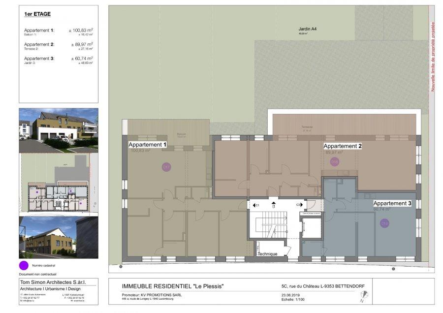 acheter appartement 2 chambres 100 m² bettendorf photo 6