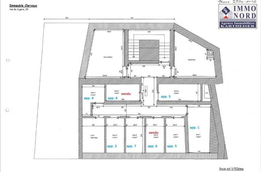 acheter appartement 2 chambres 72.61 m² clervaux photo 4