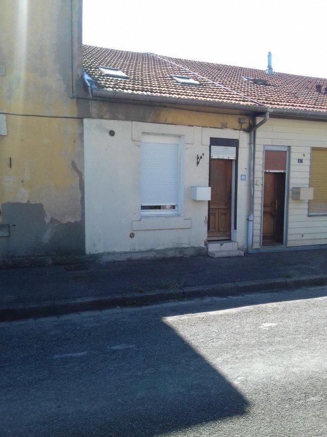 Maison mitoyenne à louer F3 à Mont-Bonvillers