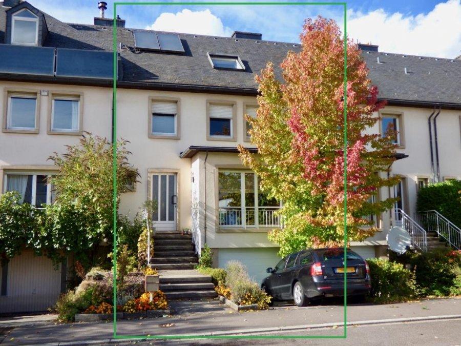 acheter maison mitoyenne 4 chambres 160 m² luxembourg photo 1